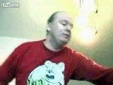 Crazy German DJ goes CRAZY.