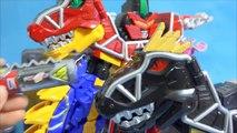 Pouvoir de base de l'aéroport de Reno noir de la bibliothèque dans la ville au son ou au robot figures jouets Power Rangers Dino Charge Kyoryuger Tobot jouets