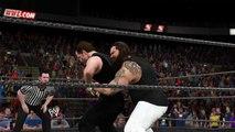 WWE 2K15 bray wyatt v dean ambrose
