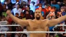 Cesaro vs Rusev Monday Night Raw September 14 2015 Full Match HD WWE Wrestling