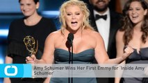 Amy Schumer Wins Her First Emmy for 'Inside Amy Schumer'