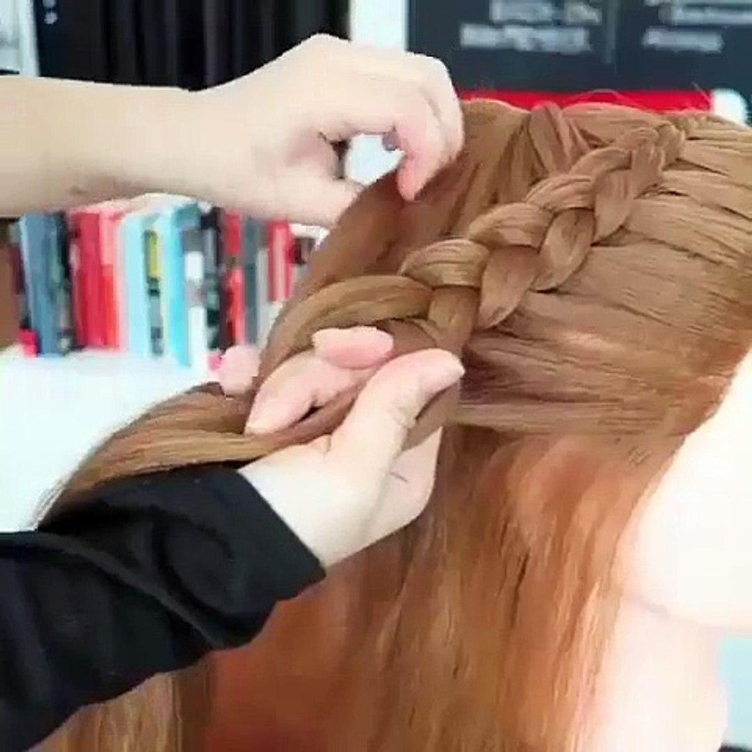Hair bun tutorial hair styling