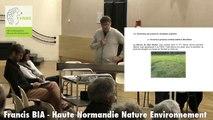 Francis BIA, pour HNNE, previent des conséquences environnementales et les captages d'eau