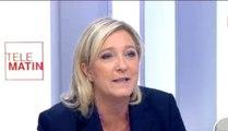 Statistiques ethniques : Marine Le Pen préfère avoir les «vrais chiffres de l'immigration»