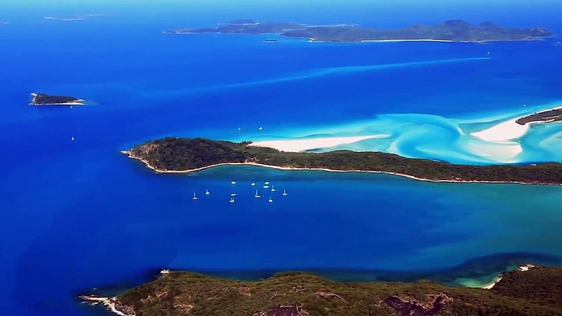 Самый чистый пляж в мире (Whitehaven Beach, Австралия)