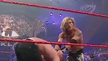 John Cena vs Triple H vs Edge  Bloody Match  - WWE Backlash 2006 - Not Fake