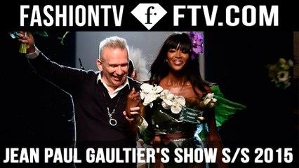 Jean Paul Gaultier brings Naomi Campbell Back!!! | FTV.com