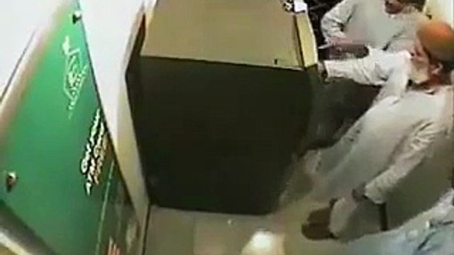 Shocking Videos: Watch What Happened With This Old Man While Taking Money From ATM