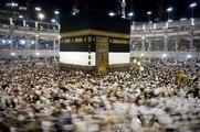Marée humaine autour de la Kaaba à La Mecque
