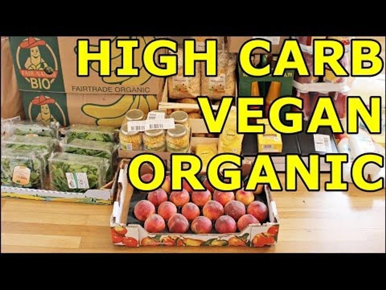 VEGAN FOOD HAUL - veganer Großeinkauf [CarbTheVeganUp]