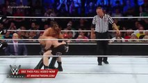 Wwe Network- Brock Lesnar Welcomes Seth Rollins To Suplex City- Wwe Battleground 2015