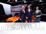 IAA 2015 SEAT: World Premiere of the Ibiza Cupra and the Leon Cross Sport