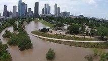 LiveLeak.com - Drone Footage Shows Extent of Downtown Houston Flooding