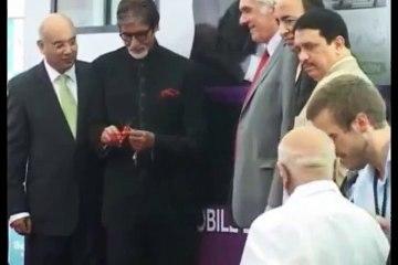 Amitabh Bachchan inaugrates mobile diabetes ambulance