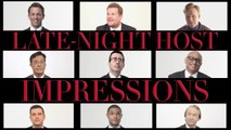 Conan O'Brien, Stephen Colbert, James Corden, and Other Late Night Hosts Do Their Best Impressions of Each Other