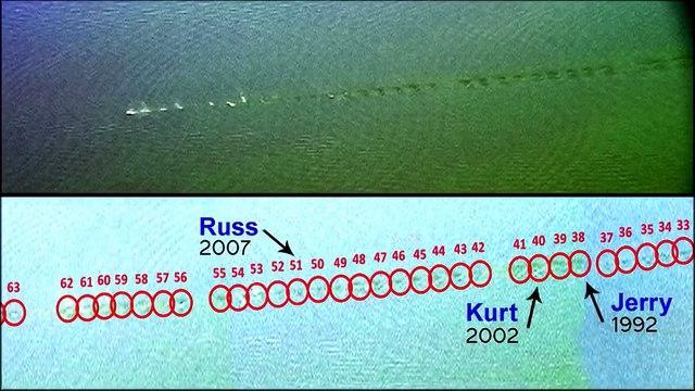 The Neptune   Insane Stone Skipping! 2014 World Record  Kurt Steiner 88 Skips with Count Overlay