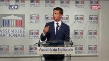 """Valls : """"Je ne discute pas avec des frondeurs, je ne sais ce que c'est"""""""