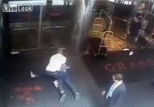 LiveLeak.com - SECURITY VIDEO: Cop Throws James Blake, a former tennis pro, to Ground