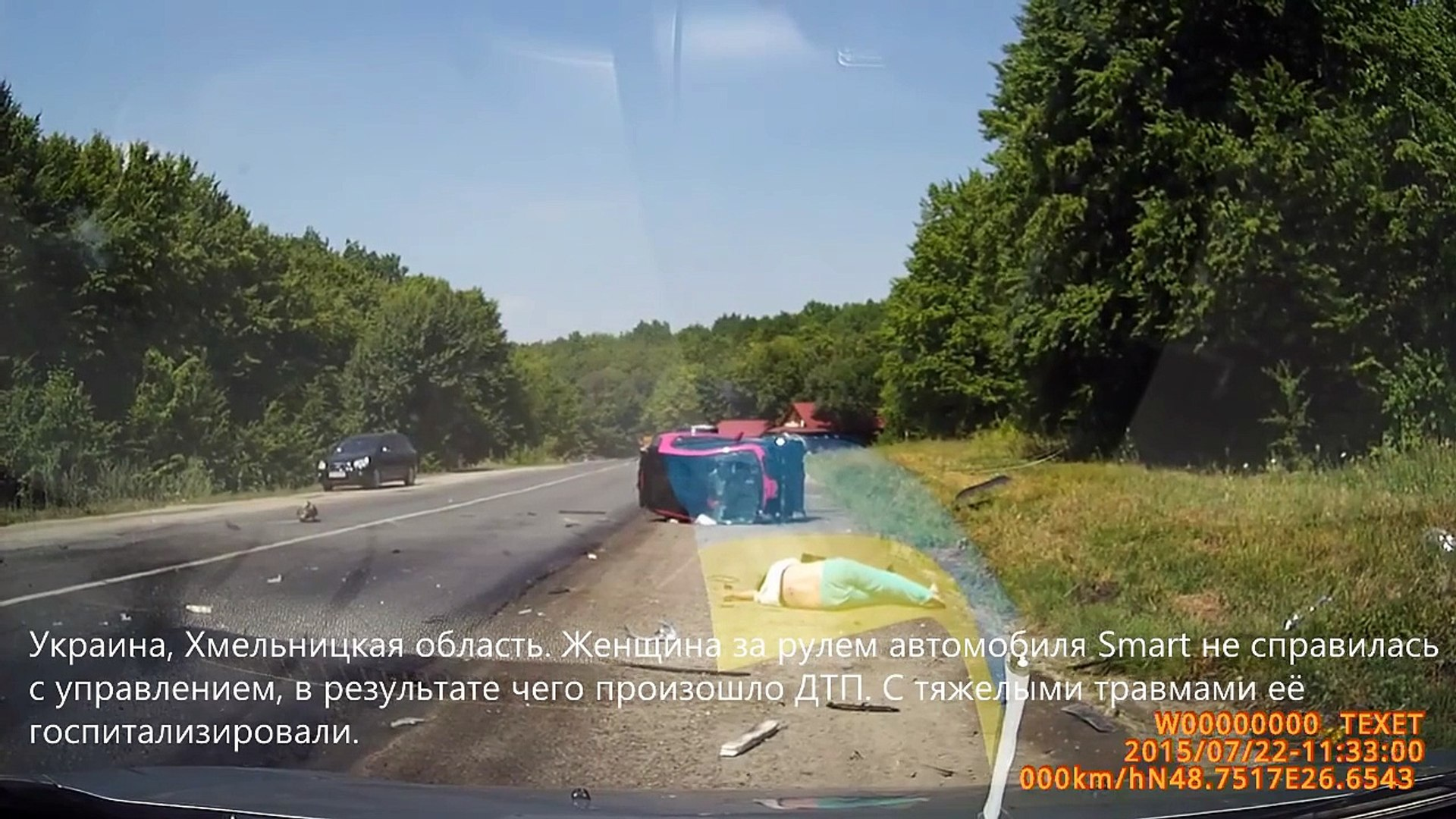Подборка ДТП / Лето 2015/ Часть 146 - Car Crash Compilation - Part 146 [Full Episode]