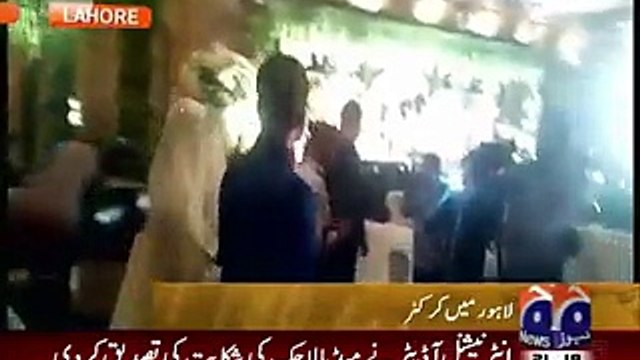 National News: Exclusive Video Of Ahmed Shahzad Walima Dabbang Entry