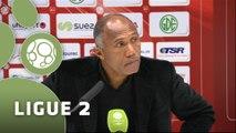 Conférence de presse Valenciennes FC - RC Lens (0-1) : David LE FRAPPER (VAFC) - Antoine  KOMBOUARE (RCL) - 2015/2016