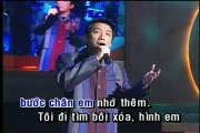 Liên khúc thành phố buồn - Truong Vu, Che Linh - Karaoke beat chuẩn