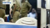 Video Mumbai Woman Drinks Beer Inside Police Station, Abuses, Threatens Police