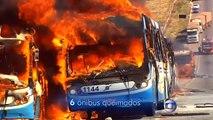 Protesters burn buses demanding better transportation