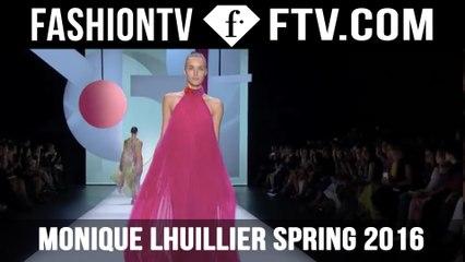 Monique Lhuillier Spring 2016  New York Fashion Week
