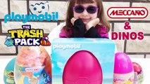 [COMPILATION] Compil N°2 de 4 vidéos de Kalys Kinder, Playmobil, Lego, Trash Pack, Meccano