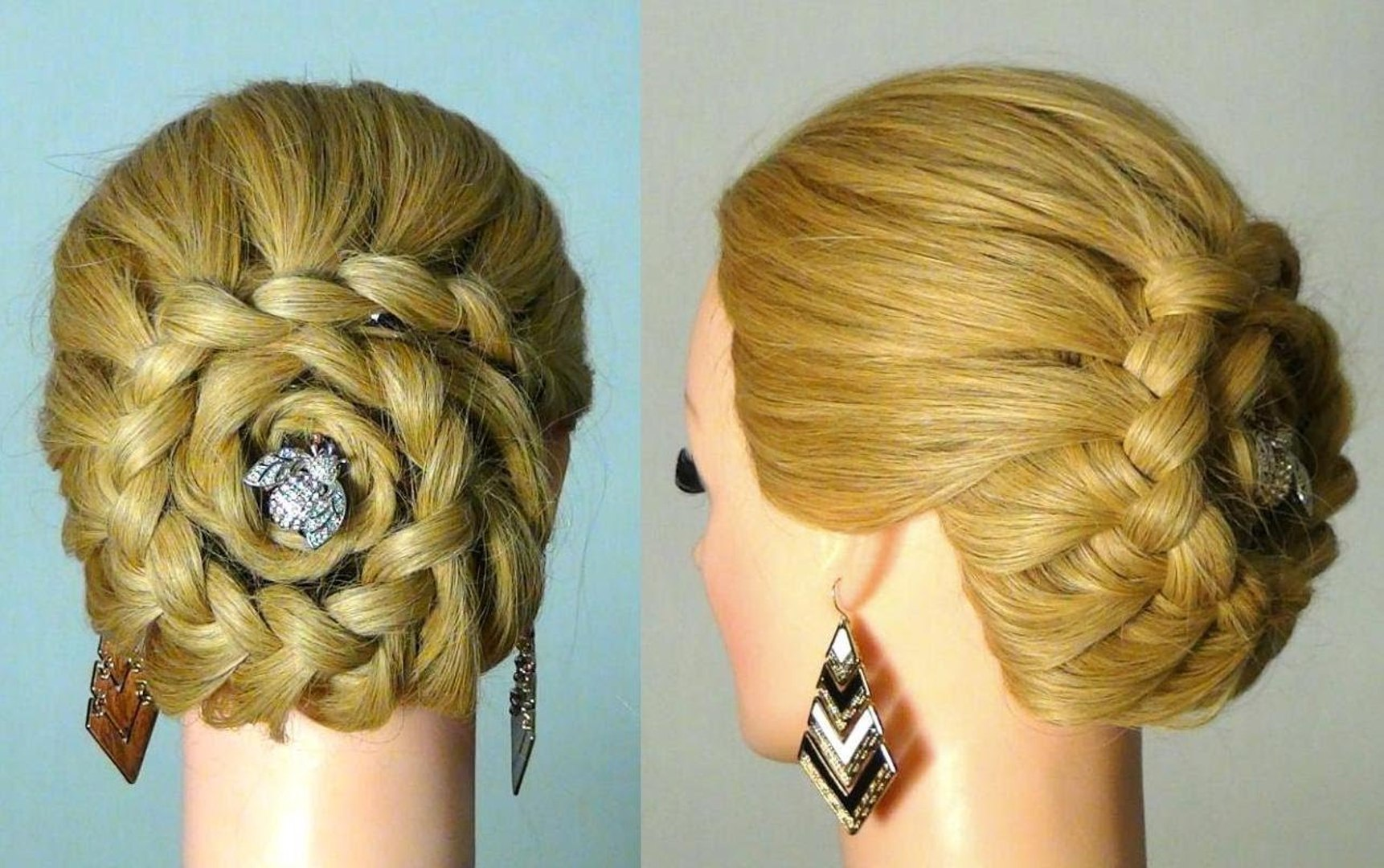 easy hairstyle for wedding parties