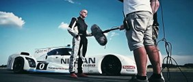 Driving Nissan's 750bhp hybrid Le Mans dart-shaped racer – Top Gear iPhone and iPad Magazine