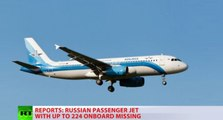 Russian JET (A-321) crashes with 224 Passenger on board