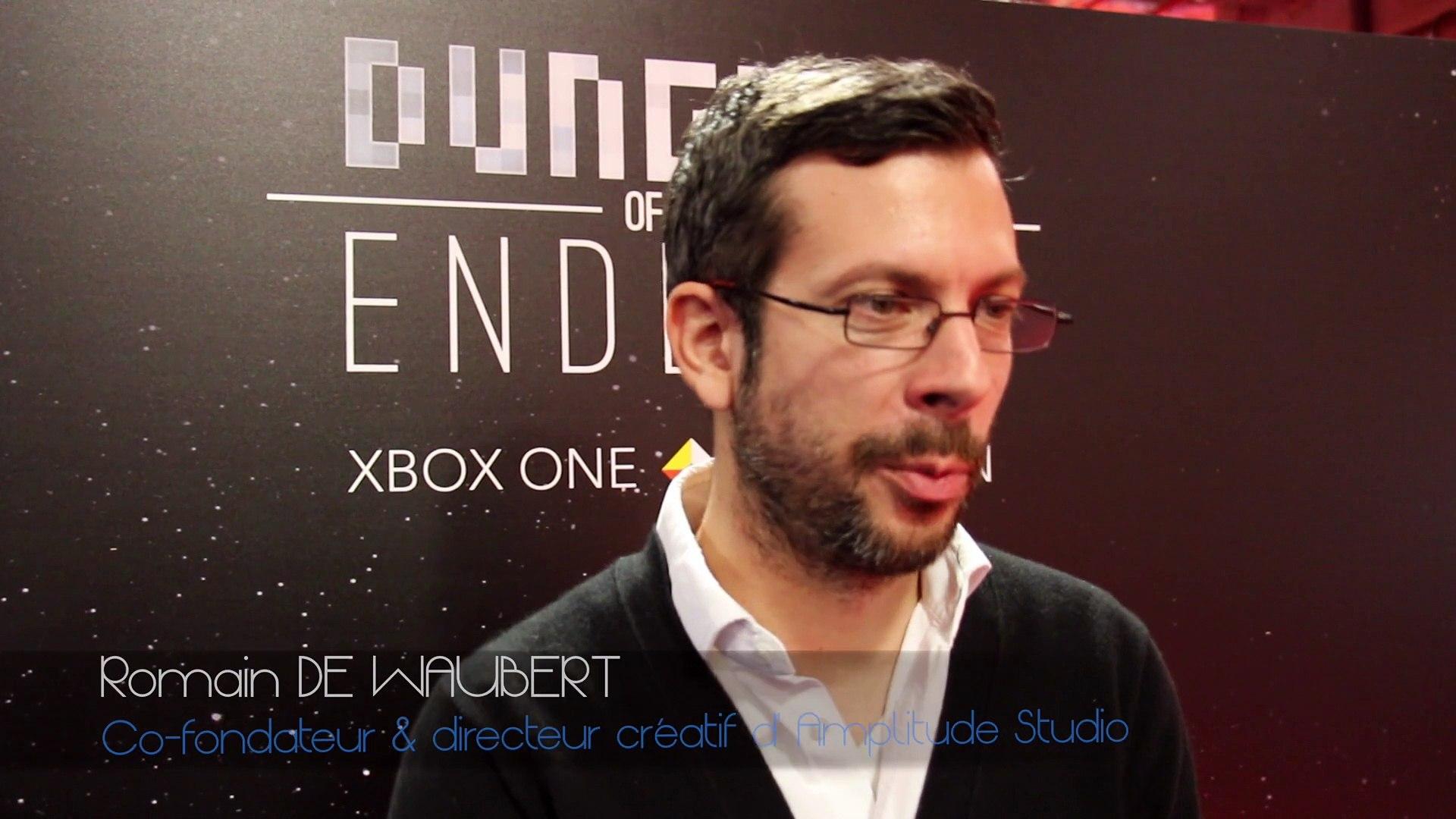Paris Games Week 2015 - Interview de Romain de Waubert (Amplitude Studio)