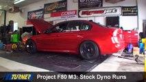 Turner Project F80 M3 Stock Dyno Run