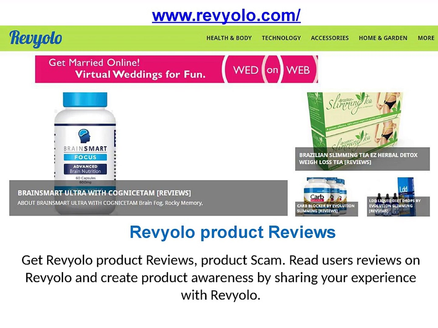 Revyolo Products Reviews