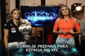 MMA ALTEROSA recebe campeã Poliana Botelho