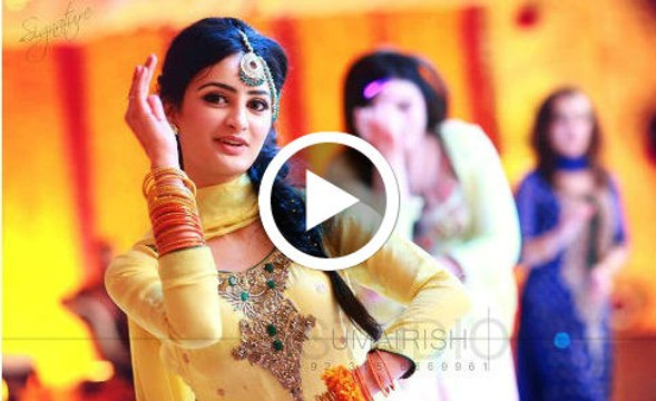 Beautiful Girls Mehndi Dance on New Songs
