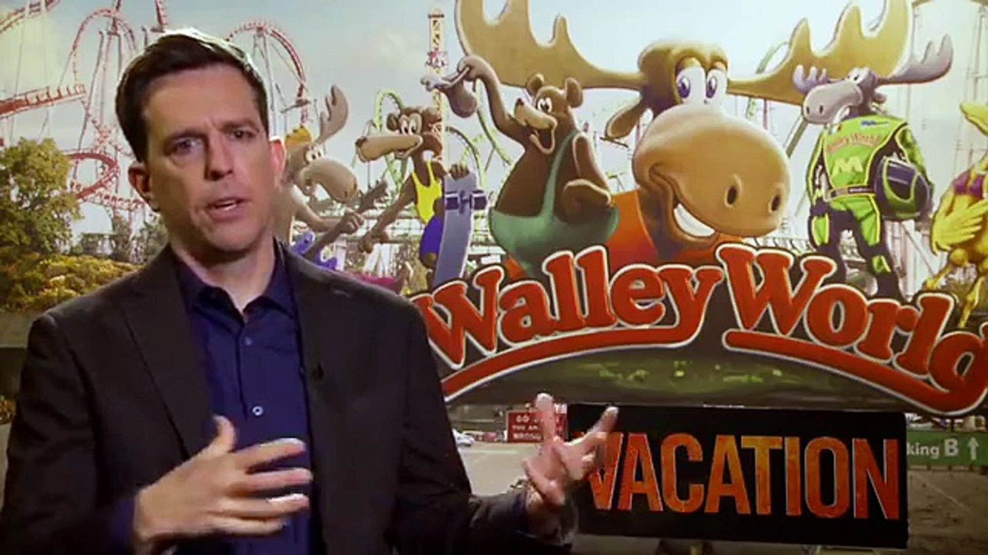 Ed Helms Interview Vacation (2015)