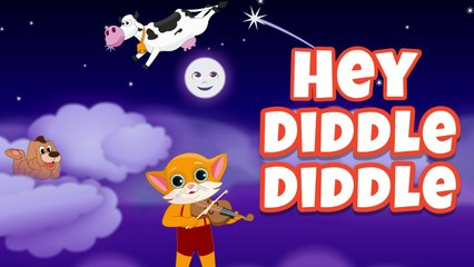 Hey Diddle | Nursery Rhymes For Kids