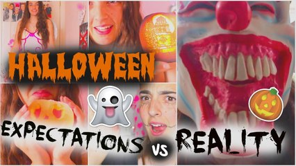 Halloween EXPECTATIONS vs REALITY!