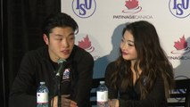 2015 Skate Canada International: Shibutani / Shibutani (Silver-Ice Dance