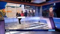 Crash en Égypte : plusieurs hypothèses, mais aucune certitude