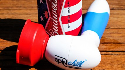 Get Warm Beer Ice Cold in Minutes This Summer With The SpinChill