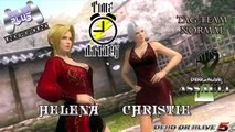 Dead or Alive Fight / Dead or Alive Assault- Time Attack Tag Team Normal featuring Helena & Christie (DOA5)