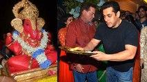 Salman Khan's Ganpati Visarjan 2015   Salman Dancing At Ganpati Visarjan