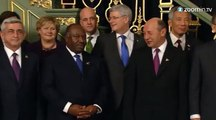 Pays-bas : les dirigeants de 53 pays prennent la pose