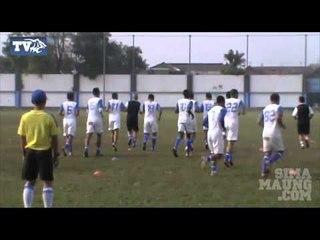 Persiapan Persib Bandung Melawan Gresik United