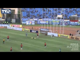 Highlights Persib Bandung vs PBR ISL 2014
