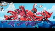 LiveLeak.com - Grafitti, Street Art and Murals Compilation